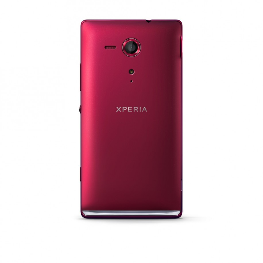 sony-xperia-sp Back Red hiresXperia Sp Red