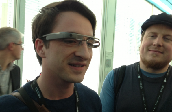 Google Glass at NEXT 2013
