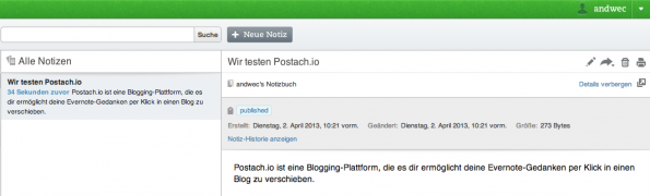Postach.io - Screenshot 3