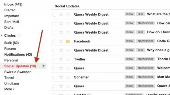 Smart Labels gibt dir die Möglichkeit deine Inbox-Mails mit Labels zu versehen und sie automatisch in bestimmte Ordner zu verschieben. (Bild: Screenshot)