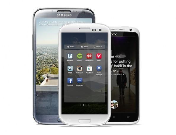 Facebook Home steht nur für einige wenige Android-Smartphones zur Verfügung.
