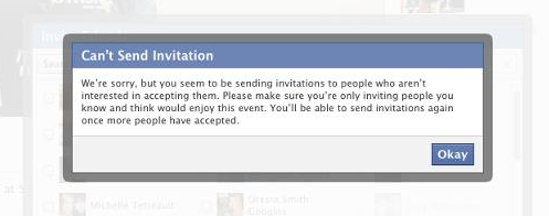 Facebook-Events Einladungen