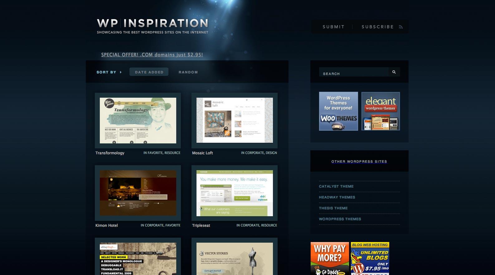 15 Top Inspirationsquellen F R Webdesigner T3n