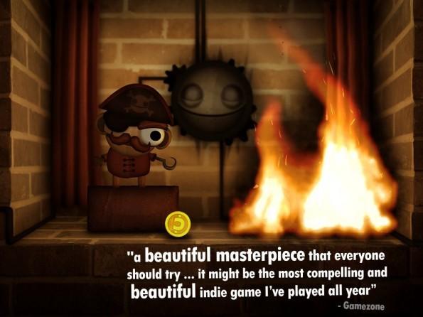 Das anvisierte Ziel für das Spiel Little Inferno von den World-of-Goo!-Entwicklern ist fast erreicht.