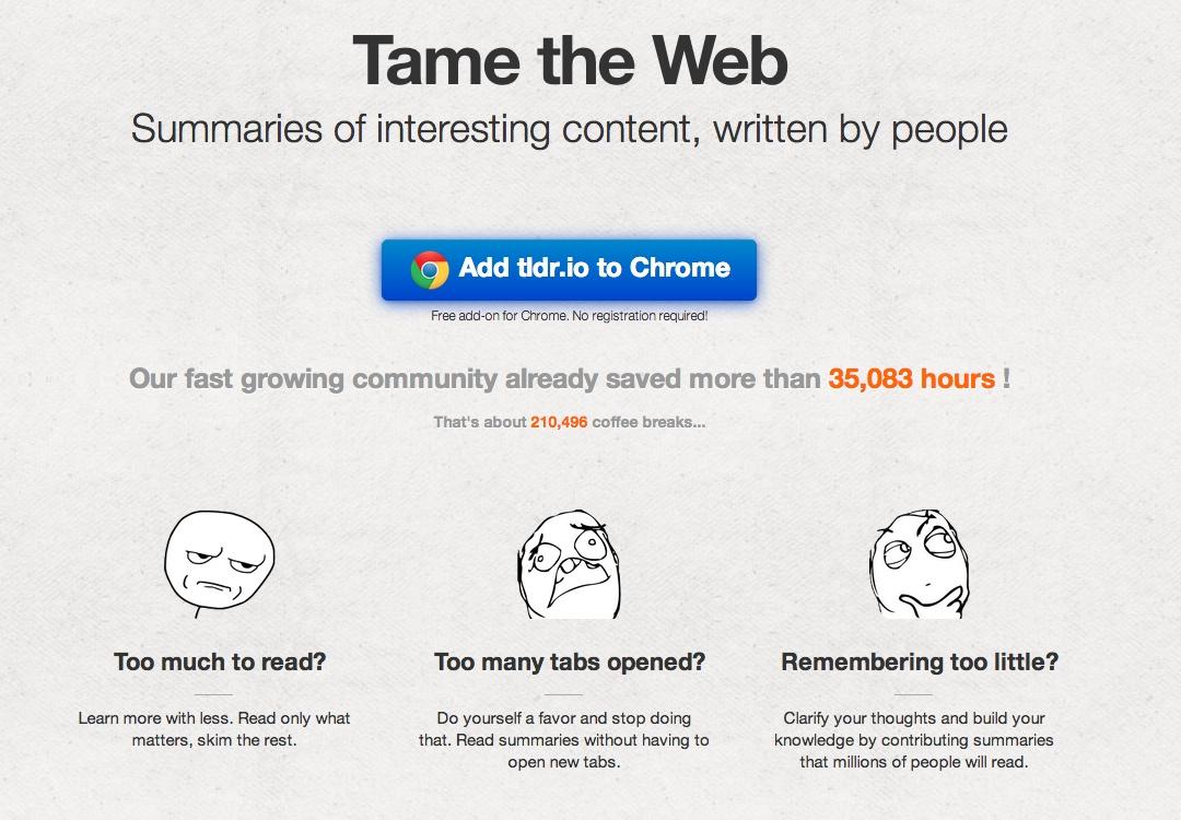Zeitsparen im Netz: Mit diesen 10 Tools schneller mehr lesen | t3n ...