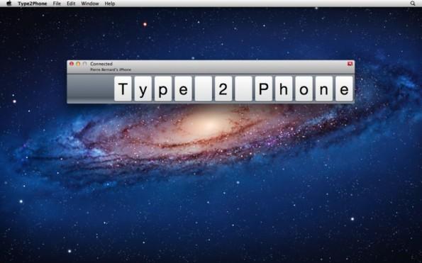 Mit Type2Phone könnt ihr vom Computer auf eurem iPad oder iPhone schreiben. Diese Woche kostenlos.