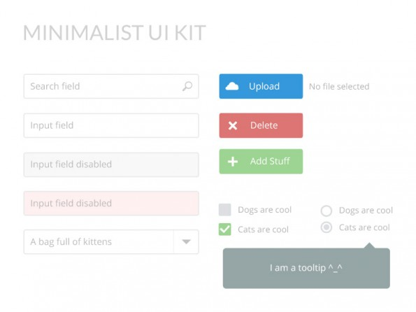 ui-kit-minimalistic