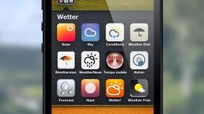 Auf der Suche nach der perfekten Wetter-App