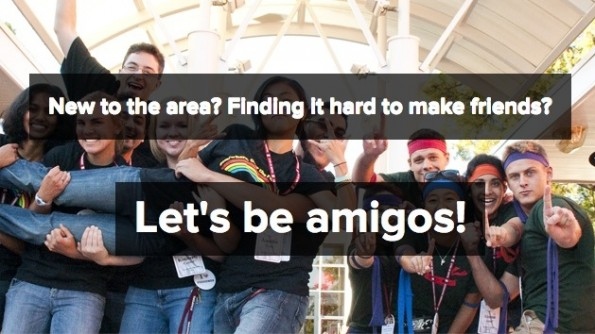 "Auch ""Let's be amigos"" versucht sich am Matchmaking. (Screenshot: letsbeamigos.com)"
