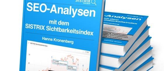 Der Sistrix Sichtbarkeitsindex als Hilfsmittel der SEO-Analyse. (Screenshot: sistrix.de)
