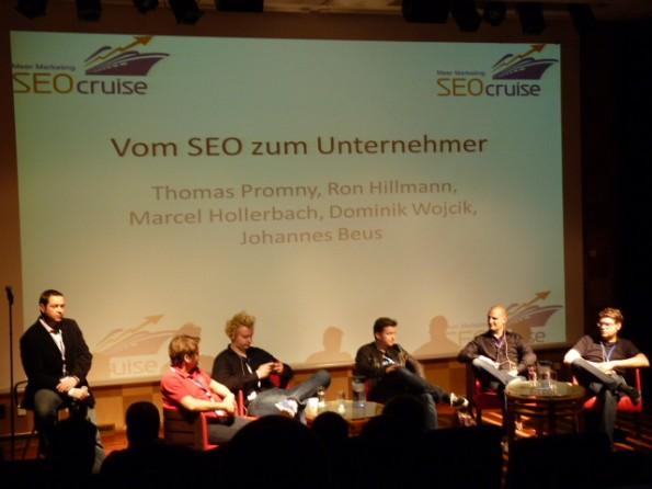 SEOcruise: Vom SEO zum Unternehmer. (Foto: Olaf Kopp)