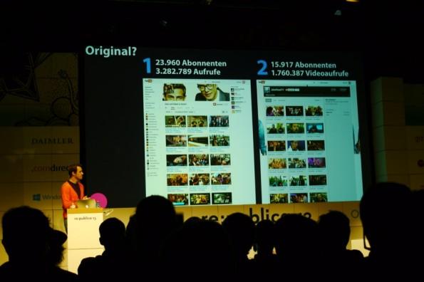Gute Inhalte und Formate werden schnell kopiert. Auf YouTube fällt es schwer, Originale zu identifizieren.