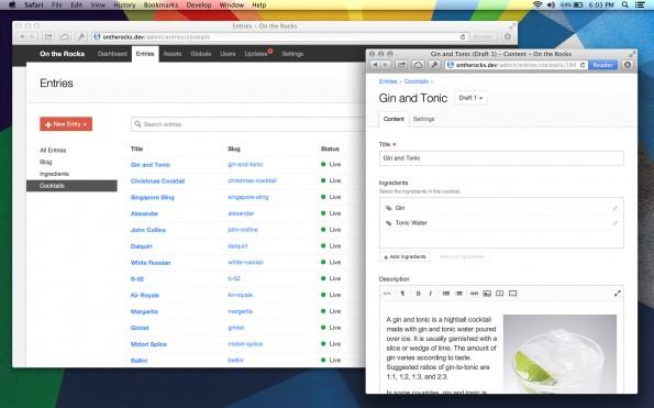 Auch Craft bietet fantastische Responsive-Fähigkeiten, ist minimalistisch und einfach aufgebaut und wird momentan in rasender Geschwindigkeit weiterentwickelt. (Screenshot: buildwithcraft.com)