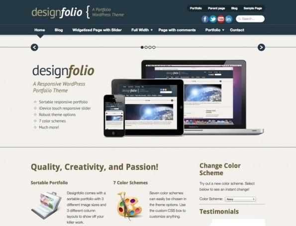 Eines der bekannteren responsiven und kostenlosen WordPress-Themes.