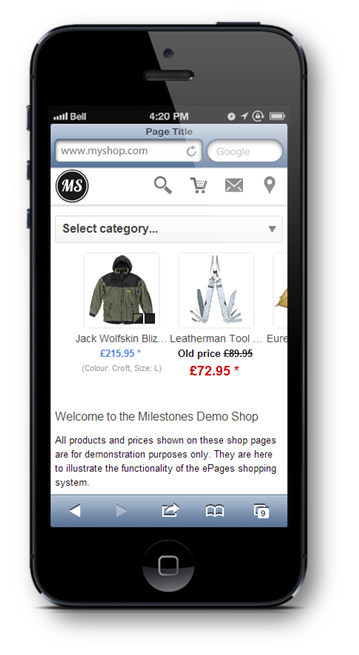 epages mobile commerce