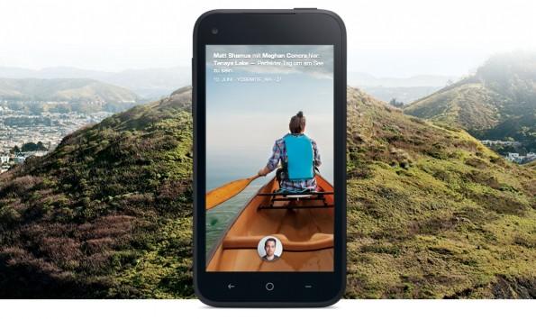 Mit Facebook Home rückt das soziale Netzwerk in den Mittelpunkt der Nutzererfahrung. (Quelle: Facebook Presseevent)