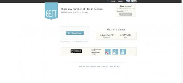 Ge.tt. (Screenshot: ge.tt)