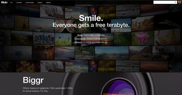 Im Rahmen des Redesigns von Flickr spendiert Yahoo seinen Nutzern auch 1 Terabyte kostenlosen Speicher für Fotos. Filr ermöglicht die Nutzung dieses Speicherplatzes für Dateien jeglicher Art.