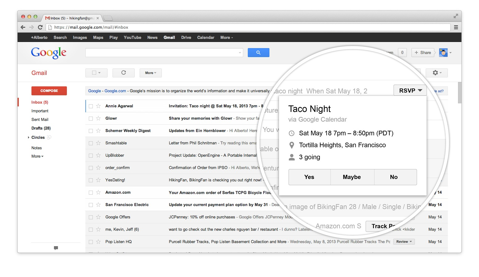 topic google mail gpfe