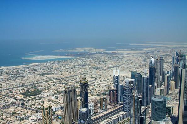Google Earth zeigt unter anderem auch, wie sich Dubai zwischen 1984 und 2012 verändert hat. Bild: flickr/McKay Savage.