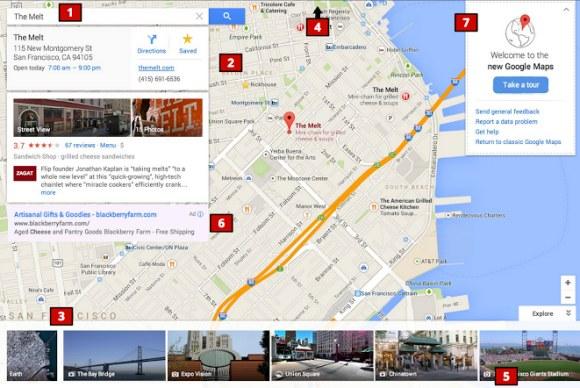 Google Maps soll ein neues Bedienkonzept und neue Farben bekommen. (Quelle: Google Operating System)