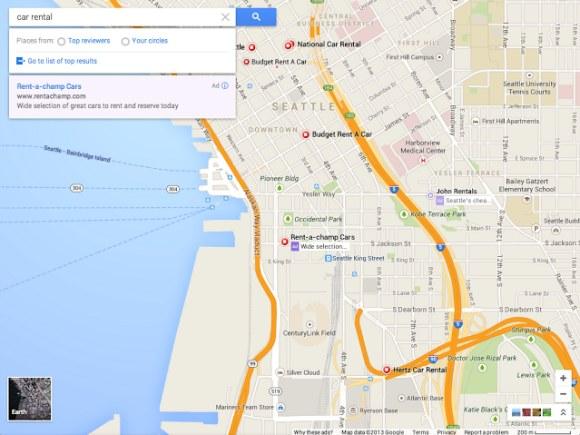 Suchergebnisse sollen nach den eigenen Google+-Kreisen und Top-Bewertungen sortiertbar sein. (Quelle: Google Operating System)