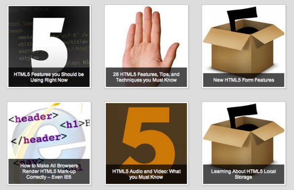 Die Session HTML5 and You auf nettuts+ richtet sich mit 15 Artikeln, Screencasts und Tutorials an Einsteiger.