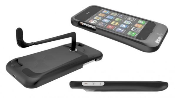 Das iPhone-Ladegeräte Reactor iPhone 5 Case ist vielmehr eine Ladehülle. Ob in nächster Zeit produziert wird, ist noch nicht garantiert. (Bild: crowdsupply.com)