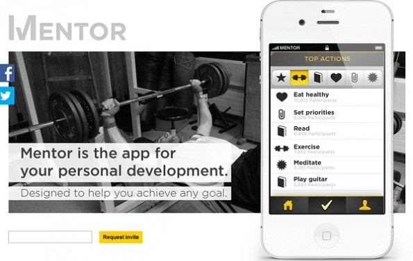 Mentor - Die Motivationsapp(Screenshot: Mentor)