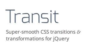 Transit: CSS-Transitions und -Transformationen für jQuery