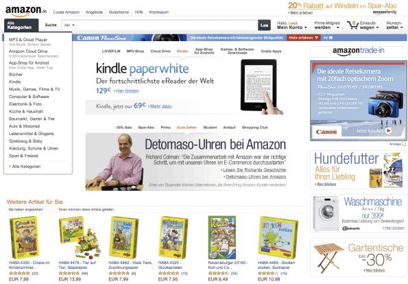 Amazon: Das Mekka für Online-Shopper – für viele die erste Anlaufstelle