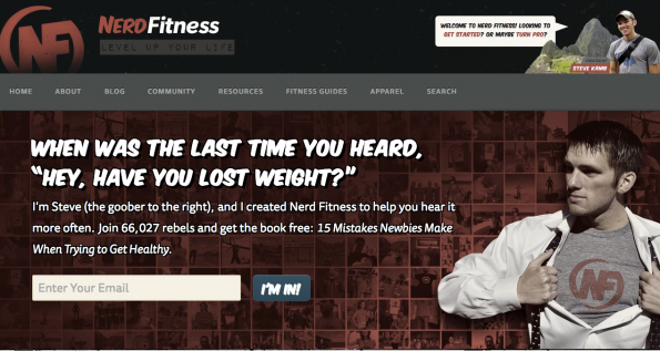 NerdFitness.com: Coole Community für Geeks und Nerds mit vielen Tipps in Sachen Sporttreiben.