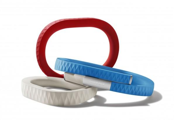 Mit Fitness-Armbändern wie dem Jawbone UP lässt sich nicht nur die tägliche Bewegung tracken – auch Schlaf und Mahlzeiten können gemessen.