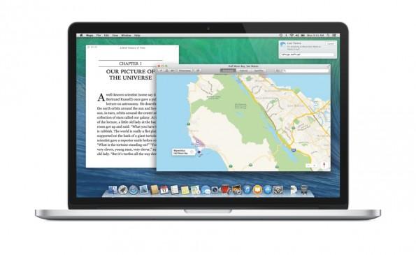 Mac OS X Mavericks bekommt gut 200 neue Features. (Bild: Apple)