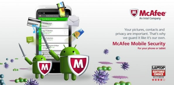 Stiftung Warentest: Testsieger aller 15 getesteten Sicherheits-Apps war McAfee Antivirus & Security. (Bild: Google PlayStore)