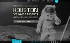 404-Fehlerseiten mal anders. (Screenshot: Blueleaf)