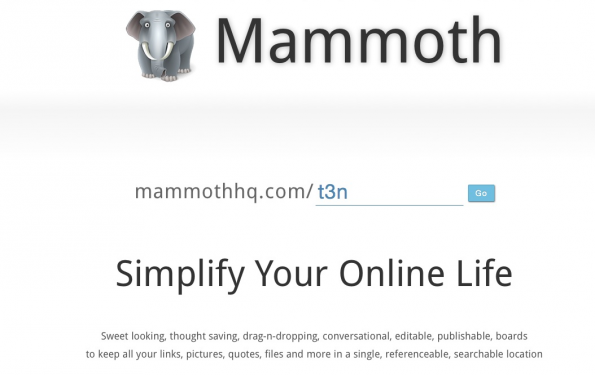 bookmarking-dienste mammothhq
