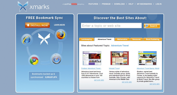 bookmarking-dienste xmarks