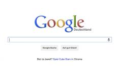 So simpel und selbsterklärend: Google –elementares Nutzerbedürfnis in elementarem Design