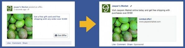 Facebook: Anzahl der Werbeformate soll reduziert werden. (Bild: Facebook)
