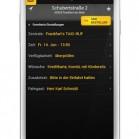 Taxi Deutschland App: Detailansicht Buchung als Screenshot auf dem Samsung Galaxy S3