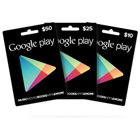 google-play guthabenkarten-gutschein