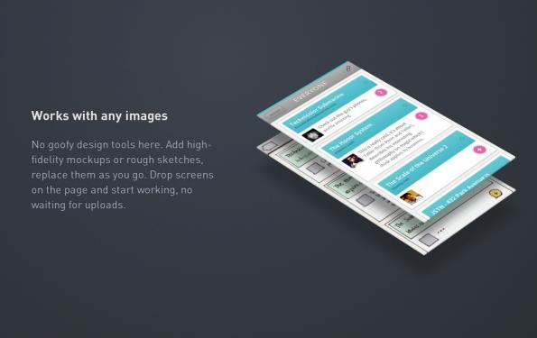 Bei Flinto handelt es sich um eine Web-App. (Screenshot: Flinto)