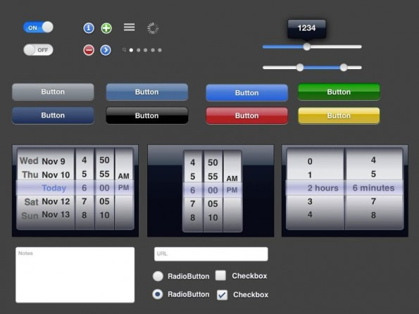 Keynotopia bietet eine Reihe von kostenpflichtigen Templates für das Prototyping mit Präsentationssoftware. (Screenshot: Keynotopia)