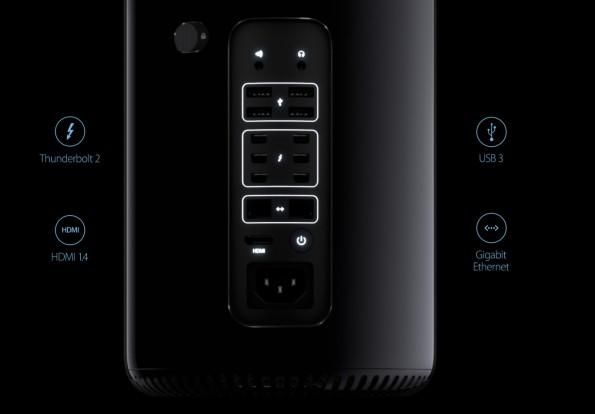 Mac Pro: Das Design bleibt Geschmacksache. (Bild: Apple)