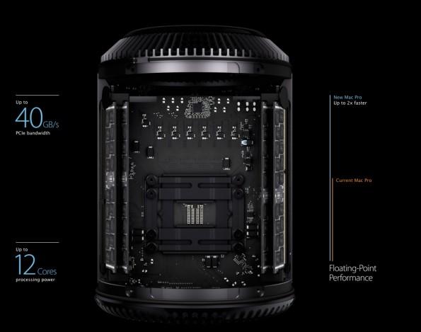 Den neuen Mac Pro wird ab Dezember verfügbar sein. (Bild: Apple)