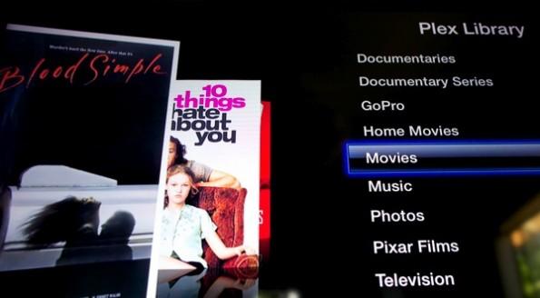 PlexConnect gaukelt der Trailer-Funktion des Apple TV etwas vor und liefert die Inhalte der Plex-Bibliothek aus. (Bildquelle: )