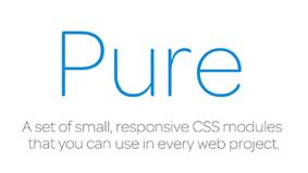 Pure: Minimalistische CSS Module für Responsive Webdesign
