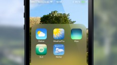 iOS 7 Wetter-Apps
