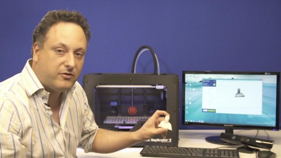 3D-Drucker, wie den Replicator 2 von MakerBot unterstützt Microsofts Windows 8.1 ab Werk.